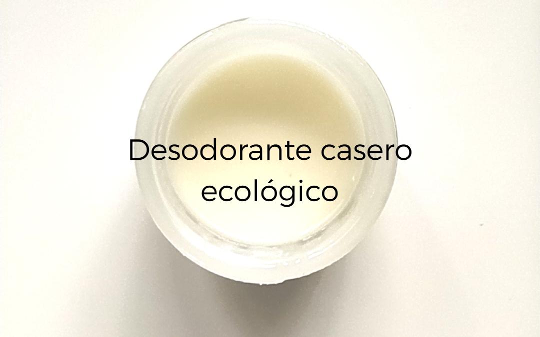 Desodorante casero ecológico muy fácil